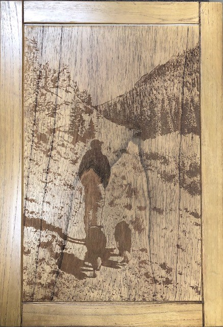 Engraved Table